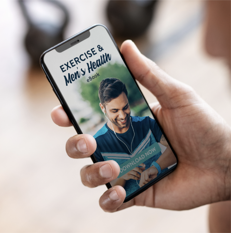 phone screen displaying Men's Health eBook cover